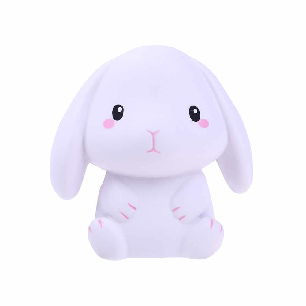 Детская игрушка милый кролик сжимаемые медленно поднимающиеся игрушки детские мягкие для сжатия хлеб с ароматом сливок подарок более 5 лет