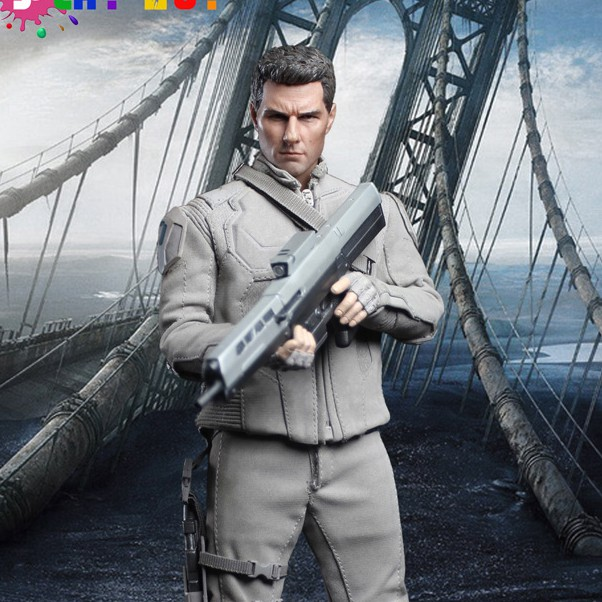 1:6 scale Super flexible male figure Oblivion Jack Harper Tom Cruise 12 action figure doll Collectible model Plastic toy did1 6 scale doll jean reno french soldiers special edition super flexible figure model toy wwi soldier finished product