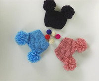 Top Baby Hats For Unisex Fashion Caps Pom Pom Beanie Baby Accessories For Photograph Props