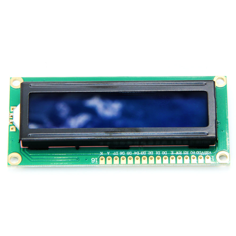 1PCS LCD1602 1602 module screen 16x2 Character LCD Display Module 1602 5V blue ;green screen and white code for arduino