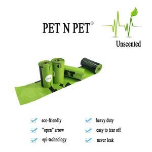 Image 3 - Pet N Petย่อยสลายได้Poopกระเป๋าเป็นมิตรกับสิ่งแวดล้อม360/720นับ24/48ม้วน15ไมครอนสีเขียวขยะกระเป๋า