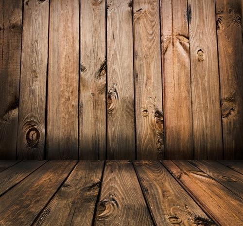 8x12ft vintage brown wooden plank panel wall texture woods floor