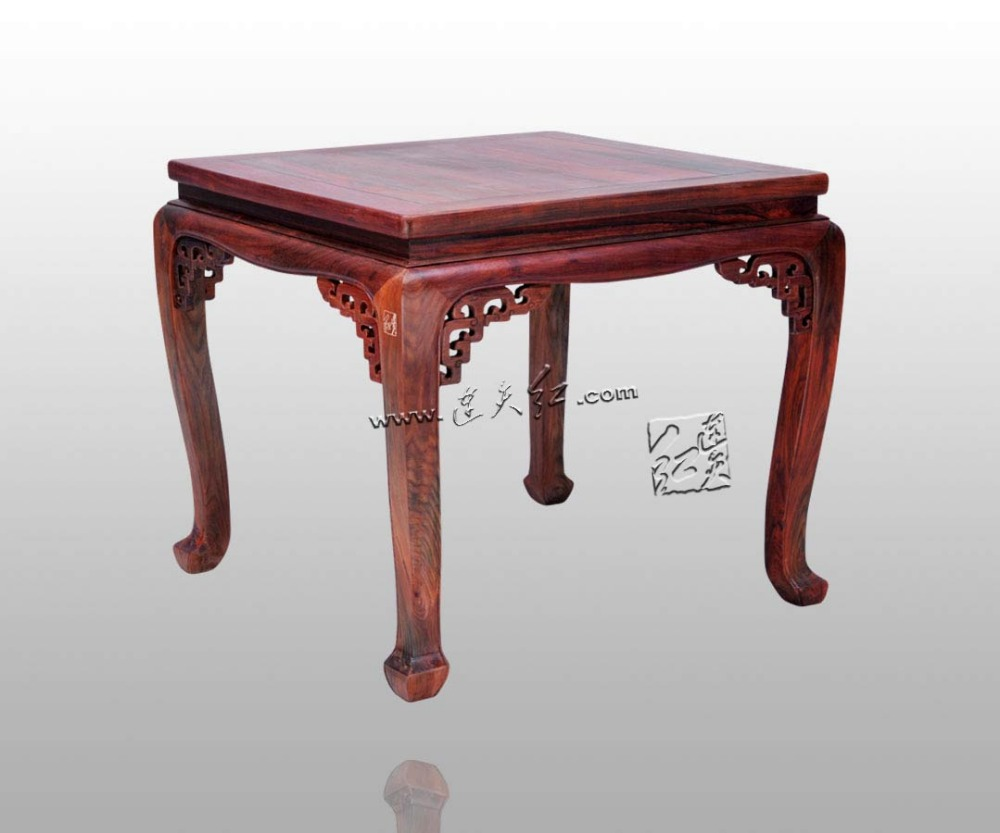 old-fashioned square table for eight people Rosewood Furniture Solid wood Small Desk Classical Fashion Tea Coffee Corner tables