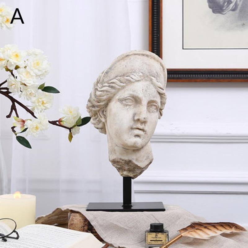 Greece Homer Statue Aphrodite Bust Varus Sfsdfsdf Half-Length Photo Or Portrait Resin Art & Craft Home Decoration Articles L2402