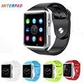 Interpad IT08 Smart Watch Android Bluetooth Smartwatch Спорт Шагомер Поддержка TF SIM Смарт Часы Для Huawei Samsung Gear s2 s3