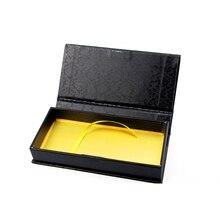 100 пар накладных ресниц упаковочная коробка Пользовательский логотип индивидуальные поддельные 3D норковые ресницы Коробки искусственные фареты случае ресниц контейнер