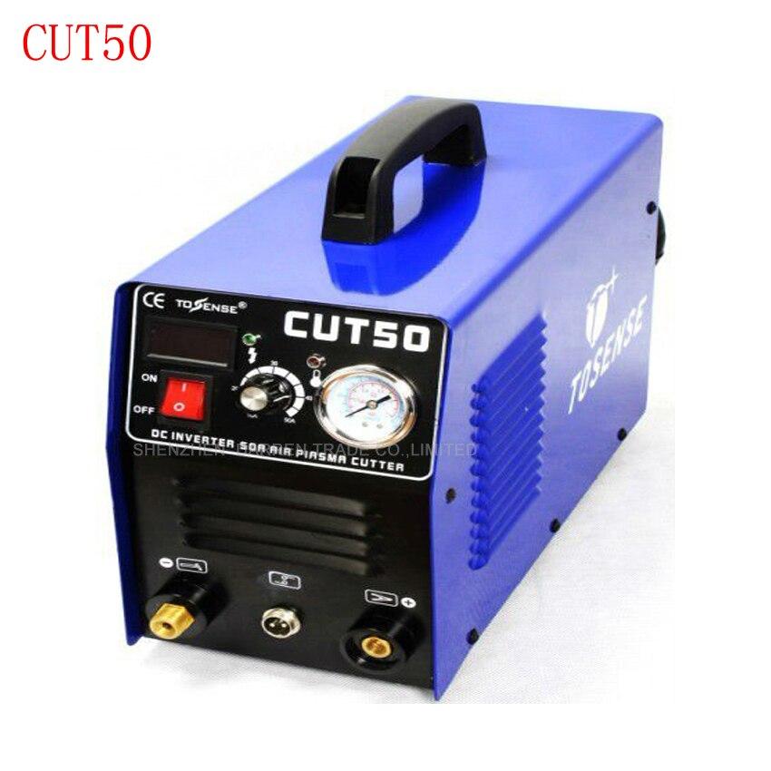 Плазменной резки 50A CUT50 Инвертор постоянного тока воздуха Plasma Cutter с бесплатной сварки аксессуары 220 V/110 V 2 шт.