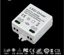 10 PCS/LOT DC12V 0.5A 6W led driver power supply for indoor strips LED