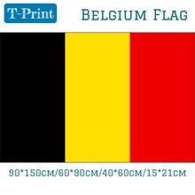лучшая цена Free shipping 90*150cm 60*90cm 40*60cm 15*21cm 5*3FT Belgium National Flag polyster banner