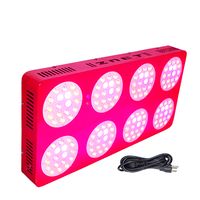 ZNET8 LED Plant Grow Light,600W HPS Replacement,Full Spectrum,LED Grow Lamp,For Indoor Plants Flowers,Indoor Grow Plant Light