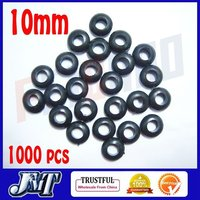 F02030 10mm1000pcs Rubber Ring Bond Grommet Nuts For Cable Protection Anti Friction Fix Helicopter Canopy Free