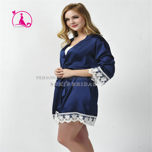 2016 новое прибытие мода Туалетная дамы Женщин Сексуальный Шелковые Кружева Одеяние Сорочка Пижамы Белье Рубашки Пижама SD4