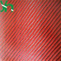 reddish black PU/TPU Coated 3K Carbon Fiber Cloth Leather, 1 m Width, Self made Handbag, Wallet, Backpack,