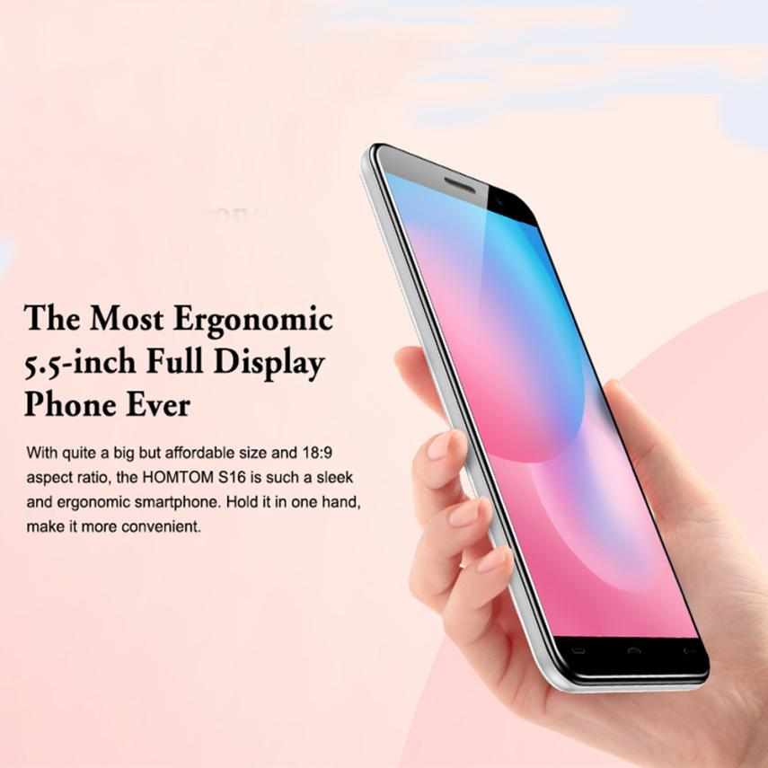 fashion 2018 3G Android 7.0  2GB + 16GB MTK6580 Quad-core Smartphone Dual Back Camera 5.5Inch HD Mobiele Telefoon 3.6 ly l9 android 4 4 3g smartphone