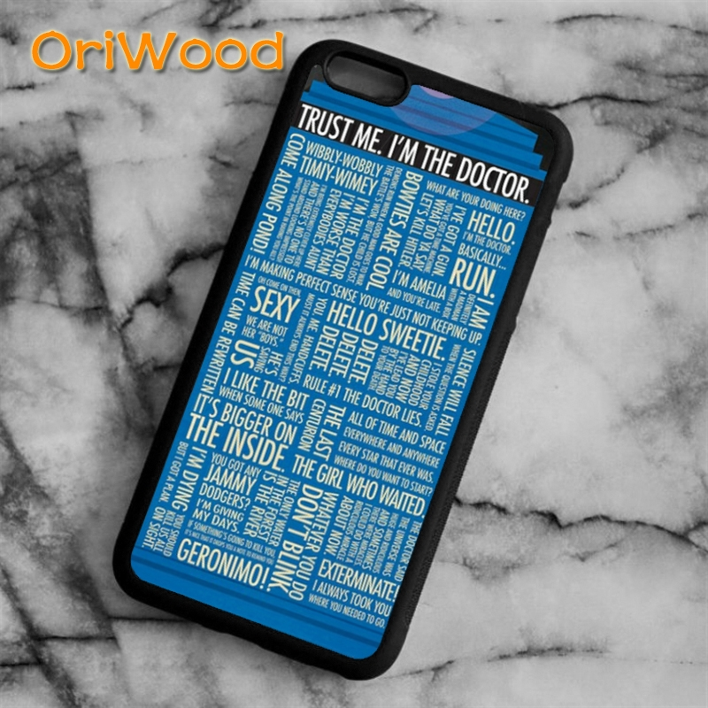 Cellphones & Telecommunications Strong-Willed Oriwood Hot Sale Doctor Who Case Cover For Iphone 6 6s 7 8 Plus X 5 5s Se Samsung Galaxy S5 S6 S7 Edge S8 Plus Note 8 Shell Moderate Cost