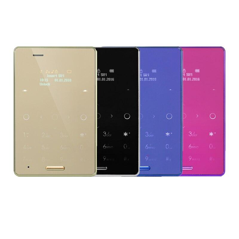 Original AIEK M4 Card Mobile Phone Ultra Thin Pocket Mini Phone Quad Band GSM Unlocked Dual