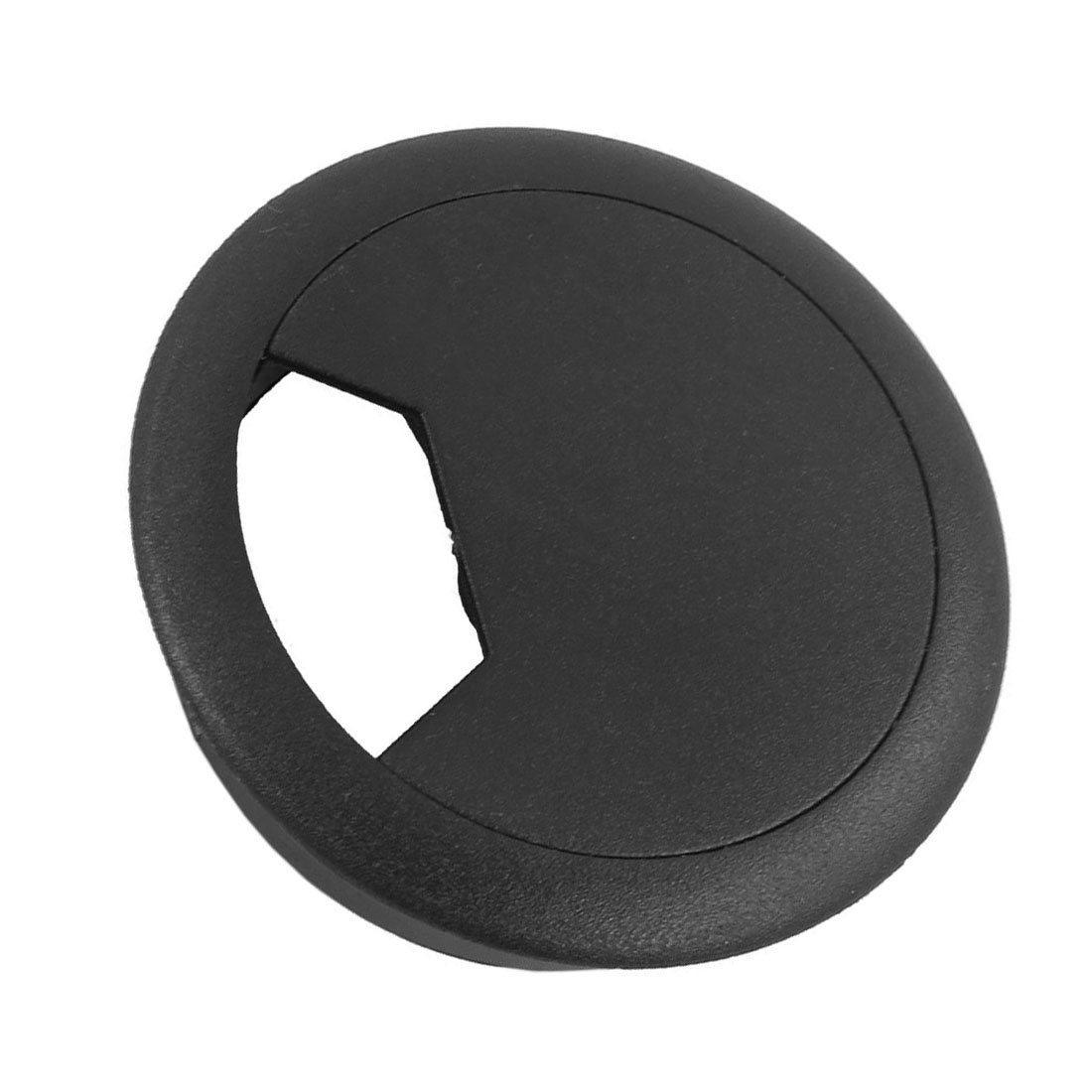 NOCM-2 Pcs 50mm Diameter Desk Wire Cord Cable Grommets Hole Cover Black tfbc black 60mm round grommet cable hole cover for computer desk 5 pcs