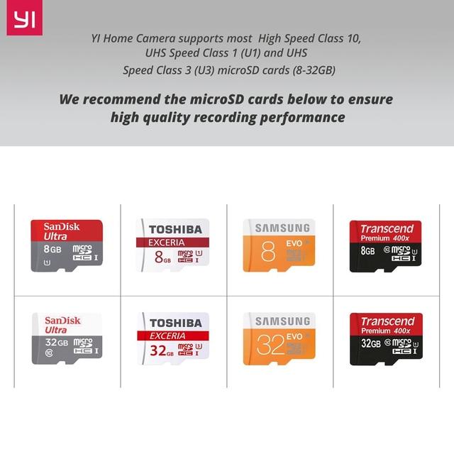 YI 1080p Home Camera Wireless IP Security Surveillance System (US/EU Edition)