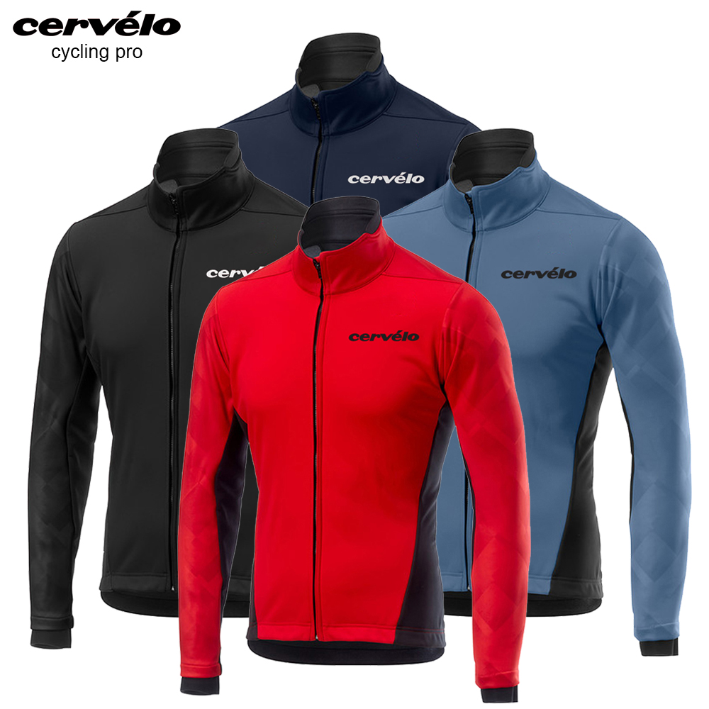 2019 Winter Cycling Jersey Set Thermal Fleece Cycling Clothing Jackets Warm Mountain Bike Clothes Racing Bicycle Clothing Set