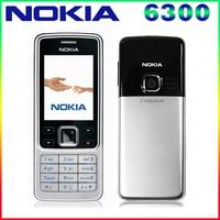 6300 Unlocked Original Nokia 6300 Cell Phone Triband Bluetoth Email FM Radio Mp3 Player Russian Keyboard