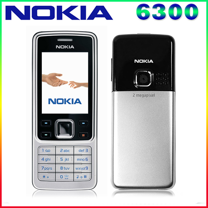Free Shipping Original Unlocked Nokia 6300 Cell phone Triband Bluetoth Email FM Radio Mp3 player Support
