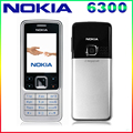 Free Shipping Original Unlocked Nokia 6300 Cell phone Triband Bluetoth Email FM Radio Mp3 player Support Russian/Arabic Keyboard
