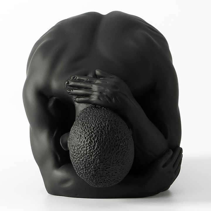 Искусственное человеческое тело Творческий средства ухода за кожей книги по искусству современный Голый мужской скульптура мужчины кафе умирает звезда голый