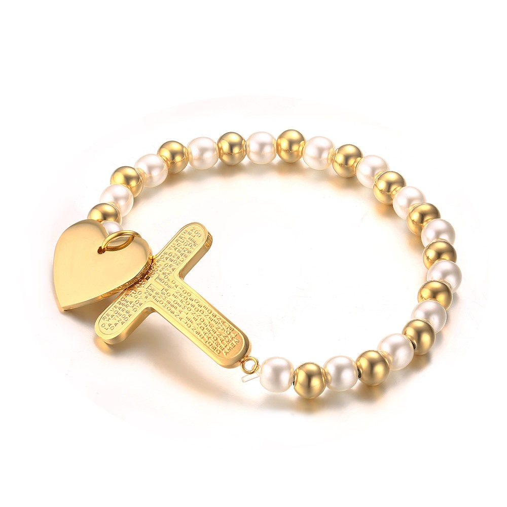 lady medal the catholic steel of stainless bracelet miraculous product