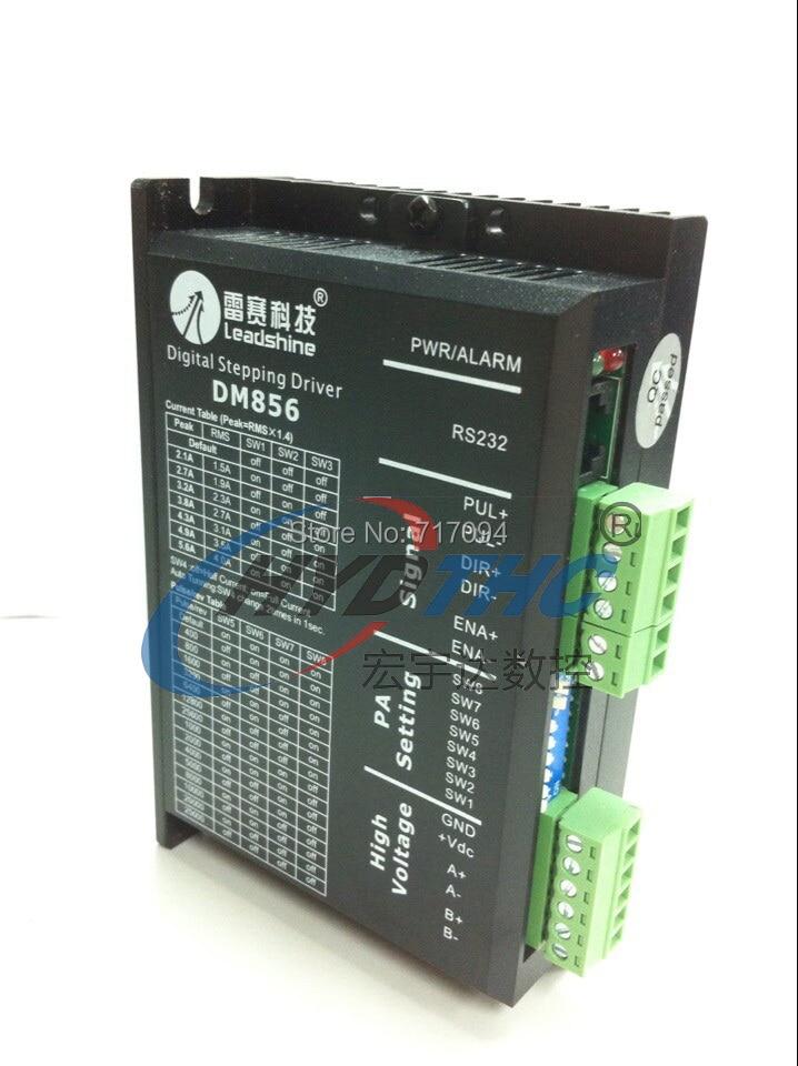 цена на NEW Leadshine DM856 CNC Driver Digital Hybrid Stepper Drive 80VDC/5.6A