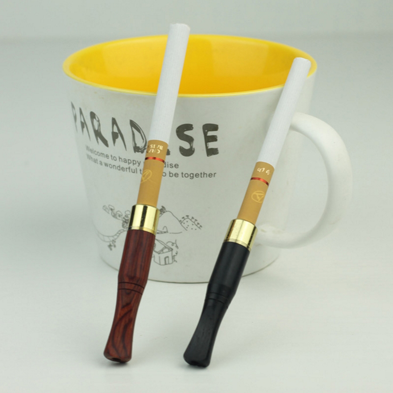 Ebony Wood Pipes Popeye Portable Creative Smoking Pipe Herb Filter Tobacco Pipe Narguile Weed Grinder Smoke Filter Mouthpiece