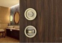 AIBOLI Zinc Alloy Mortice Sliding Door Lock door handles for interior door lock Modern Anti theft wood door lock