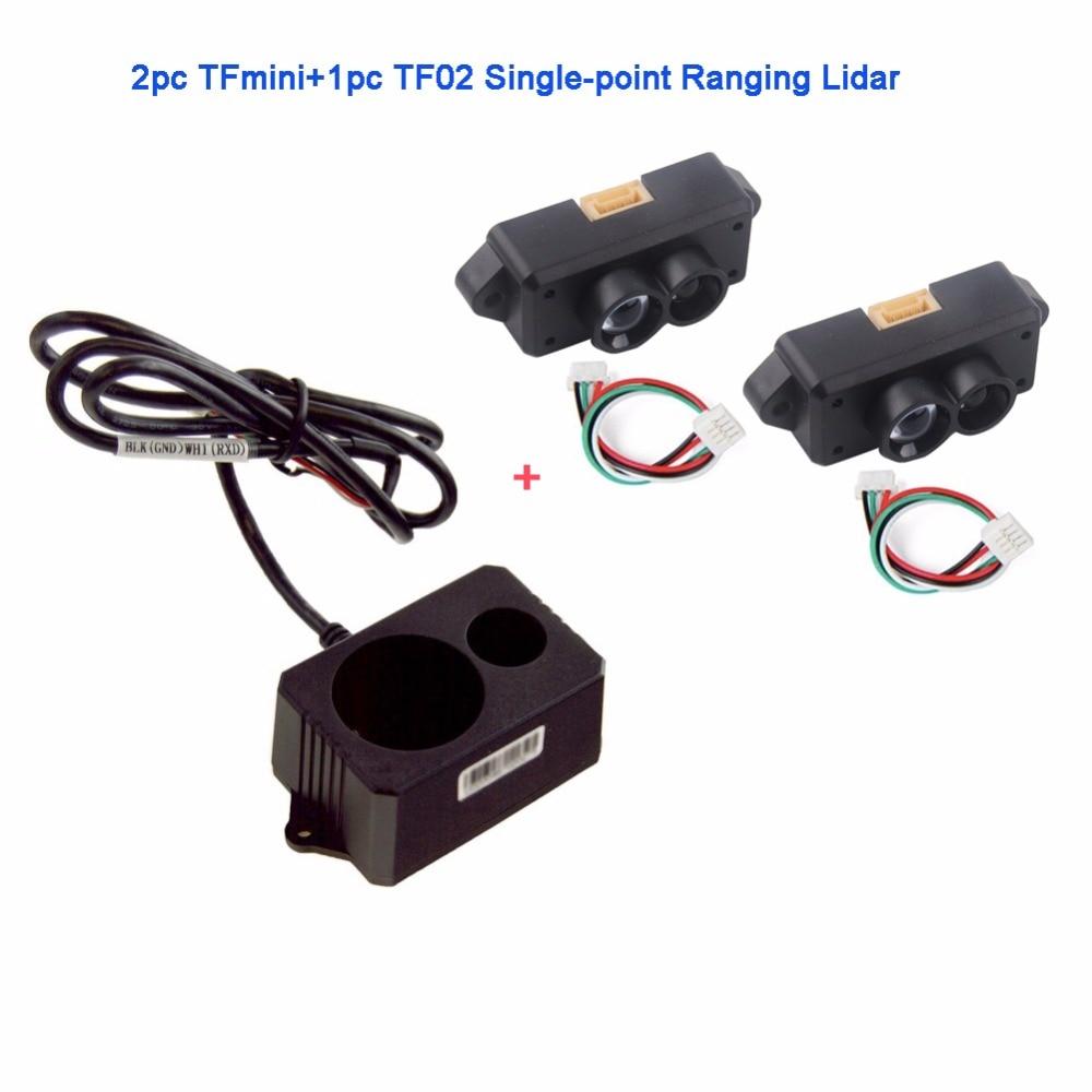 2pcs TFmini Lidar Range Finder Sensor Module +TF02 Single-Point Lidar Detector Micro Ranging Module for Arduino Pixhawk Benewake