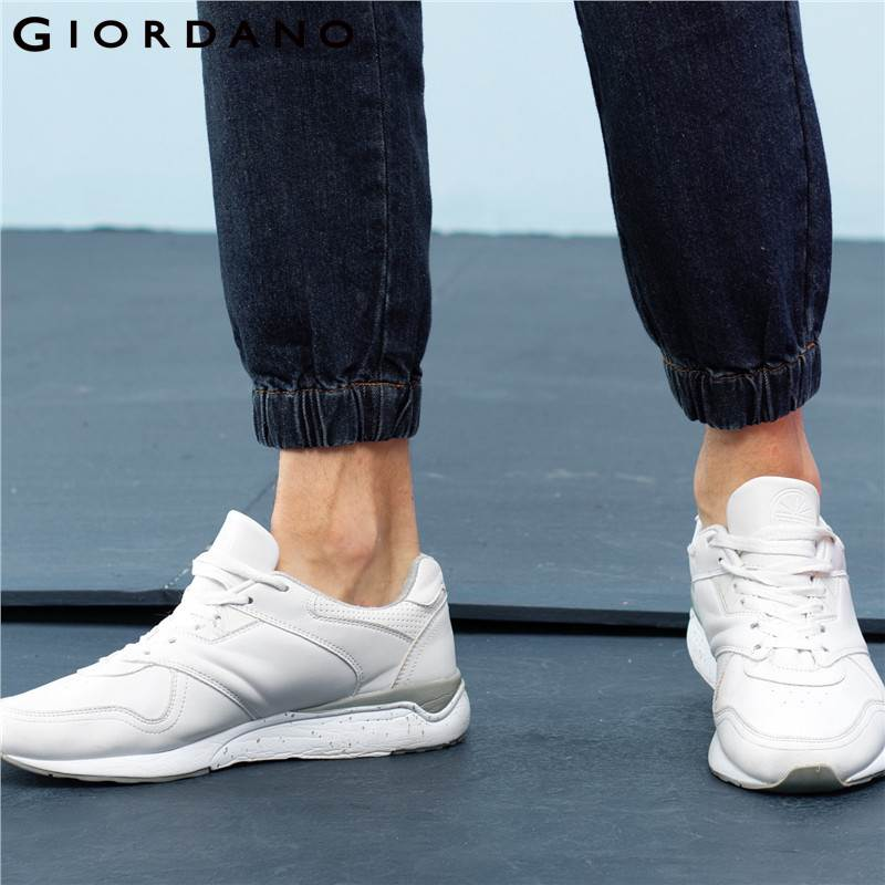 Giordano Men Jeans Denim Joggers Fashion Trousers Soft Cotton Clothing Man Board Pants Stretchy Jogger Vetements
