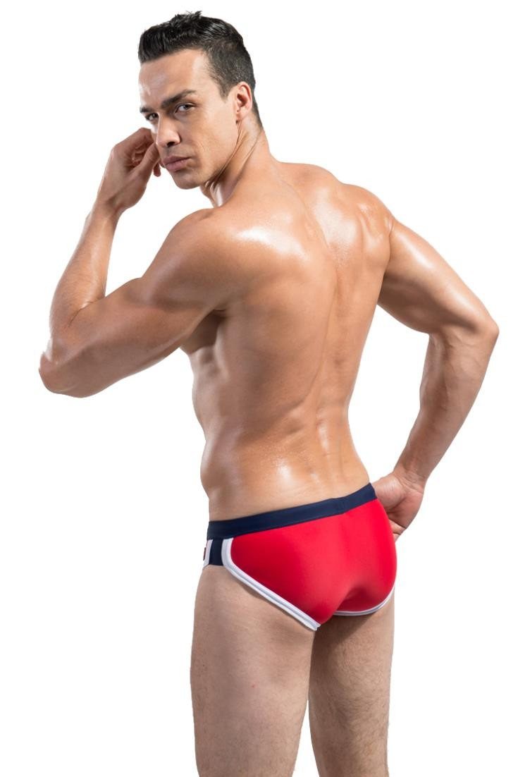 Topdudes.com - Men's Sexy Swim Briefs Beach Wear
