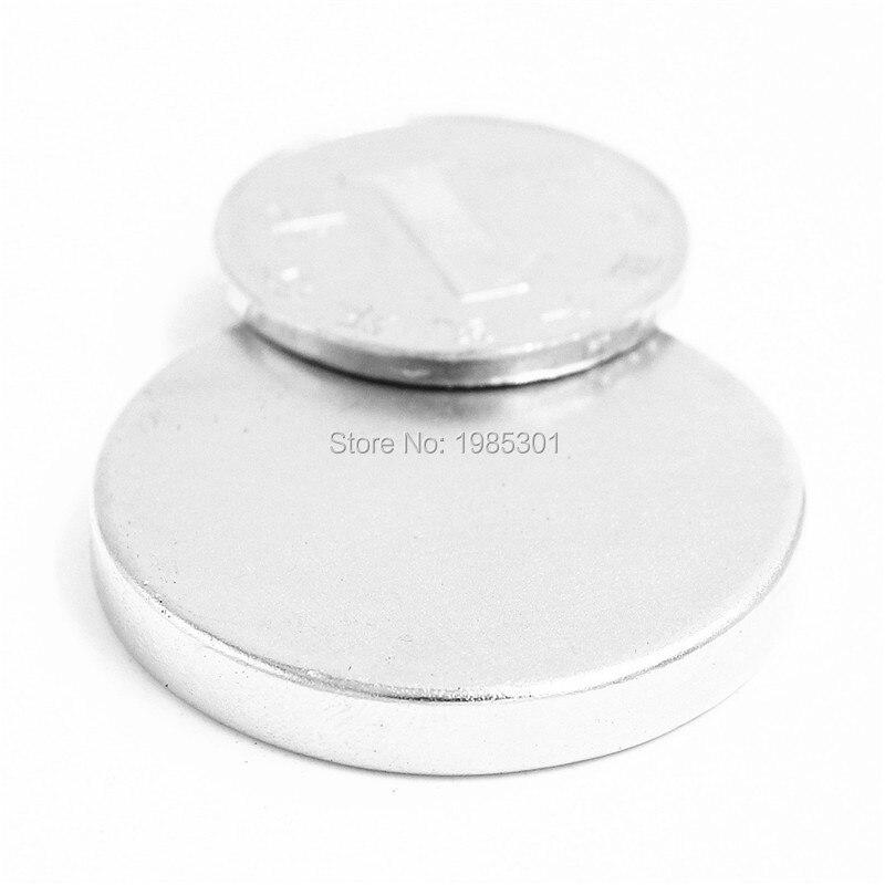 1pcs Strong Round Dia 35mm x5mm N35 Rare Earth Neodymium Magnet Art Craft Fridge free shipping