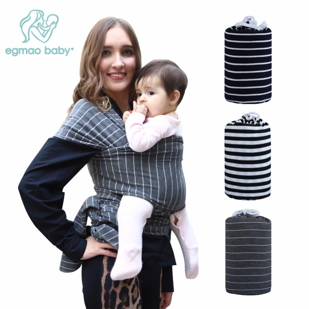 Portabebés Natural Cotton Sling Infant Wrap Mochila Ducha de - Actividad y equipamiento para niños