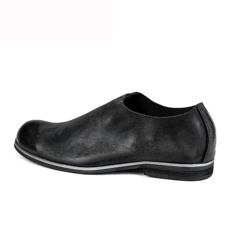 marrom Luxo Mycoron Homens Handmade De Chaussure Botas Partido Arrivals Couro Primavera Preto Designer Sapatos New outono Homme Shoes wqpR8Tw