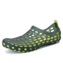 Aqua Scarpe Per Uomo Donna A Piedi Nudi Scarpe Scarpe Trampolieri Outdoor  Pieghevole Spiaggia Sneakers Sandali Degli Uomini Dell. 7b406d10626