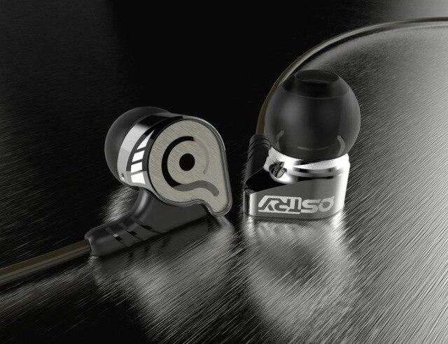 Nova hifi de alta fidelidade kc06 ostry kc06a qualidade profissional stereo inner-ear fones de ouvido earbuds