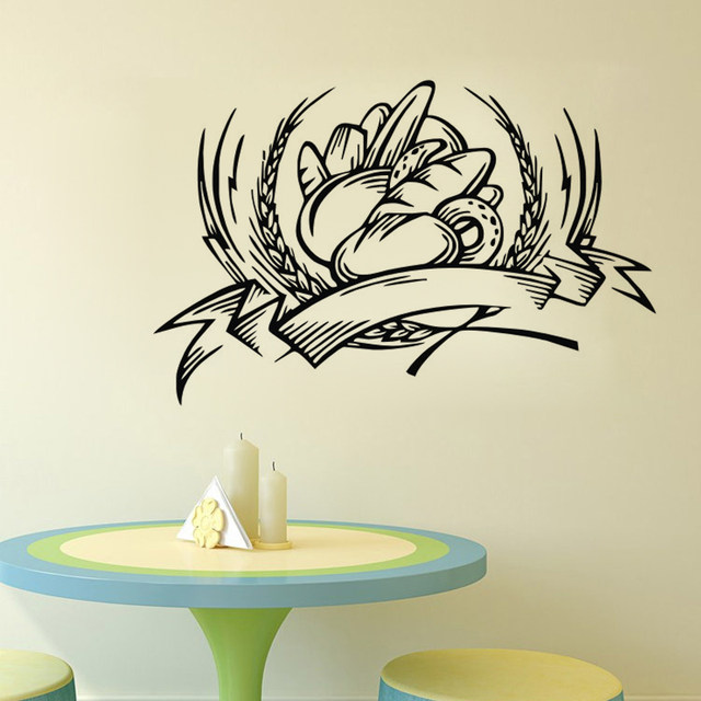 Online Shop Bakery Decorativa Wall Stickers Cucina Adesivo Per ...