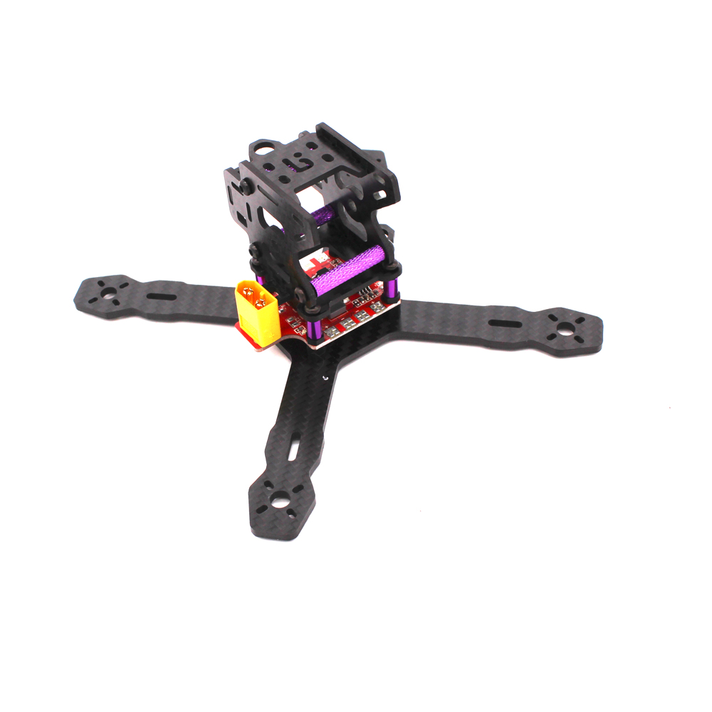 DIY Drone Racer RX130 130mm RX150 150mm REPTILE-RX130/RX150 Carbon Fiber FPV Quapcopter Frame w/3mm Arm for QAV-X QAV210 Martian diy fpv mini drone qav210 zmr210 race quadcopter full carbon frame kit naze32 emax 2204ii kv2300 motor bl12a esc run with 4s