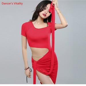 Image 4 - Dalla fasciatura Delle Donne di Disegno di Concorrenza di Alta Qualità Costumi di danza del Ventre Danza Del Ventre Vestito Da Prestazione Della Fase 3 di colore