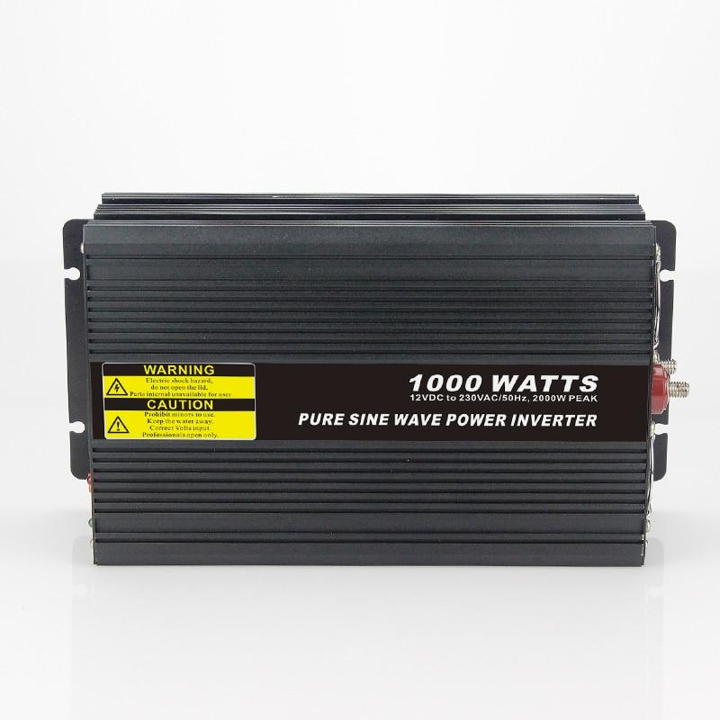 Real power 1000W Car Power Inverter Converter DC 48V to AC 110V or 220V Pure Sine Wave Peak 2000W Power Solar inverters