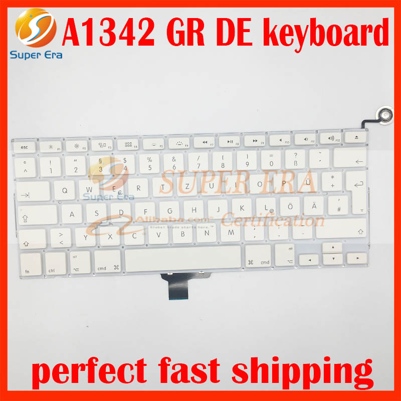 A1342 Duitsland GR DE toetsenbord voor macbook 13.3 '' A1342 Duits - Notebook accessoires