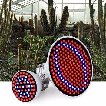 220V LED Plant Growth Lamp E27 Led Full Spectrum Light Bulb Grow for Plants Tent Flowers Seeds 110V Phyto-lamp 6W 15W 20W