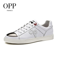 OPP New footwear 2017 Summer Mens Shoes Loafers For Men Cow Leather Flats Shoes Casual Sequins White Shoes Leather Loafers Man 1