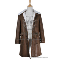 Batman The Dark Knight Rises Cosplay Joker Bane Costume Coat Jacket Comfortable Three Quarter Coat Fast Shipping