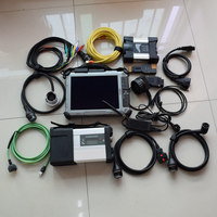 for bmw icom next auto diagnostic tool mb star c5 sd c5 star diagnosis ssd 2018.12v 2in1 laptop ix104 i7cpu tablet