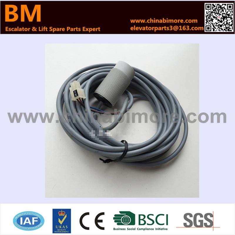 Elevator Weighing Sensor SSM-R30-LI-6M KM712542G01Elevator Weighing Sensor SSM-R30-LI-6M KM712542G01
