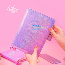 цена на 2019 Agenda Planner Organizer Diary A5/A6 Dokibook Kawaii Spiral Notebook Weekly Monthly Personal Travel Diary Journal Note Book
